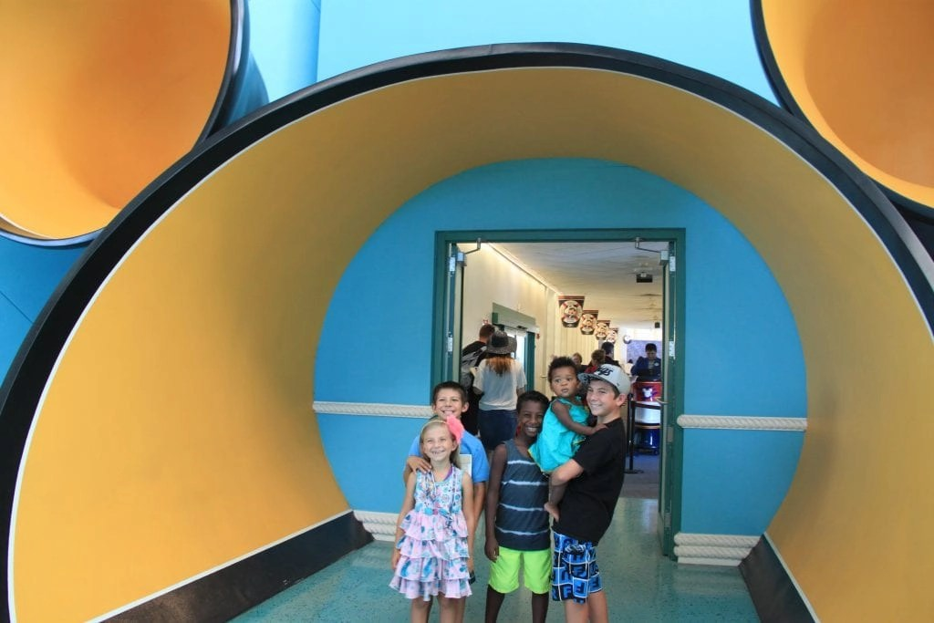 Entrance to Board Disney Cruise Line   Global Munchkins