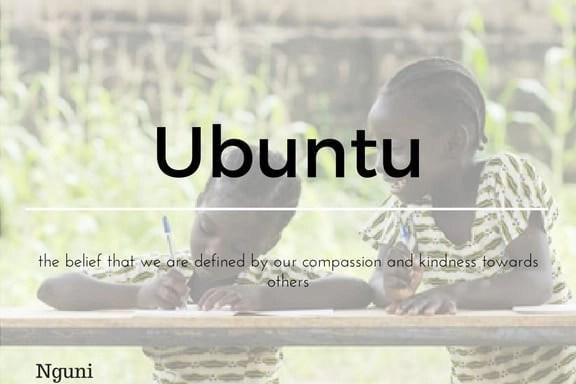 Ubuntu 13 words not in the English Language