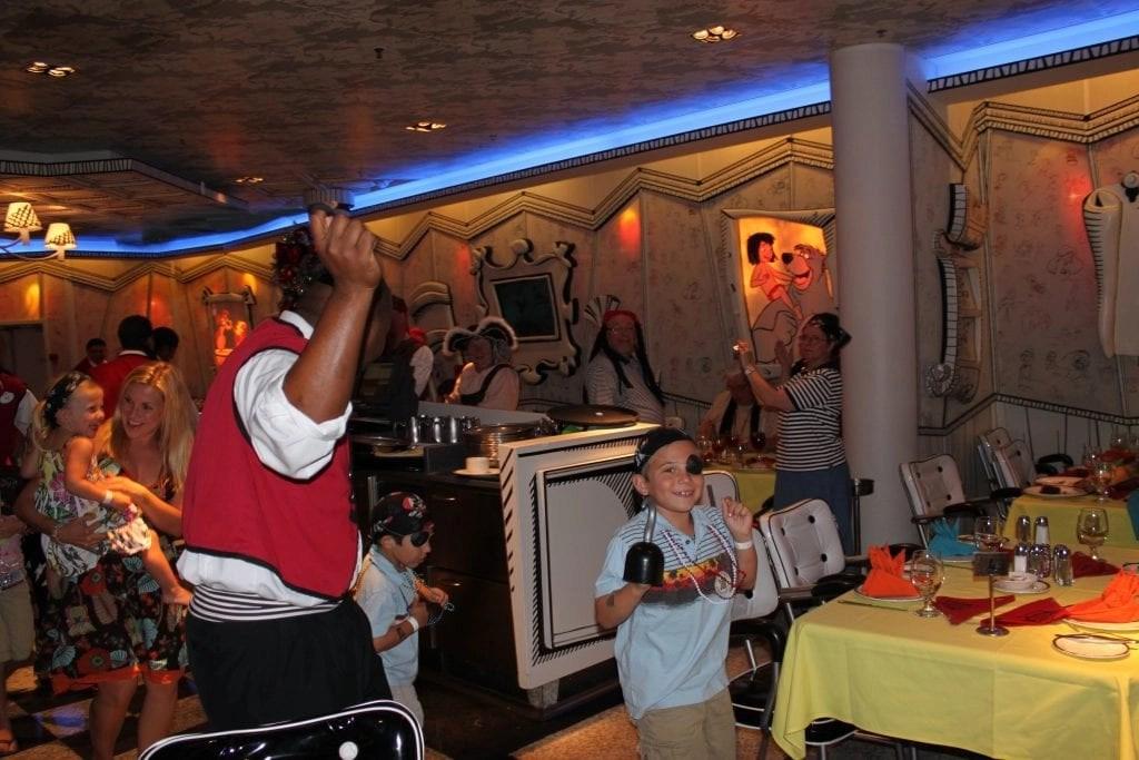 Great entertaining staff on board Disney Cruise Line   Global Munchkins