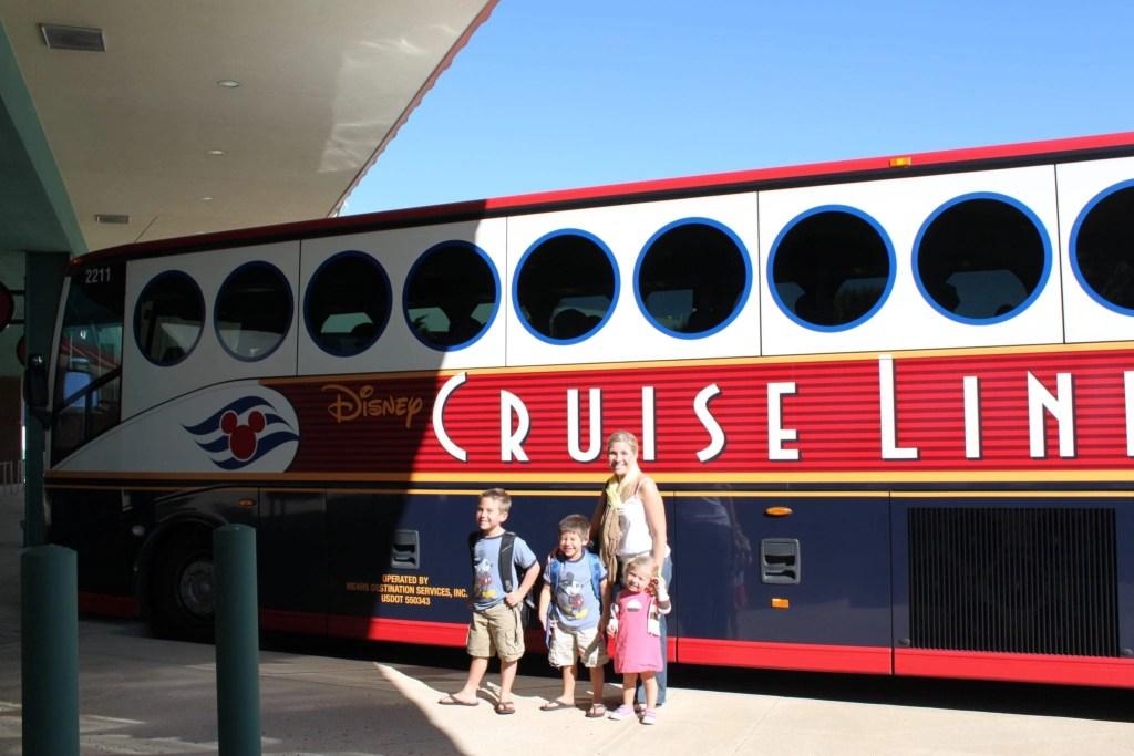 Disney Cruise Line Bus | Global Munchkins