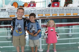 Getting ready to board Disney Cruise Ship | Global Munchkins