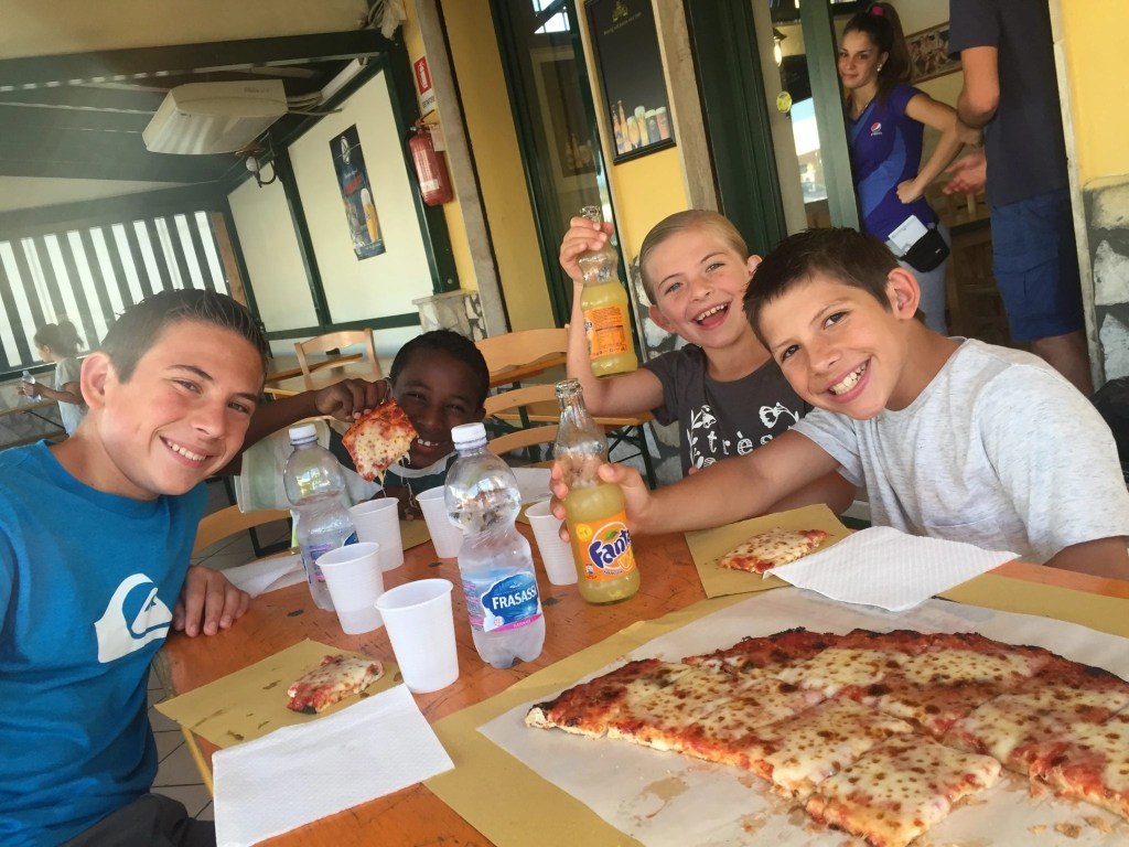 Families will love all the pizza just another reason Rome with kids is always a good idea   Global Munchkins