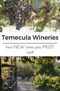 Discover the best new Temecula Wineries and head down for a weekend of fun in this up and coming SoCal wine town. | Global Munchkins