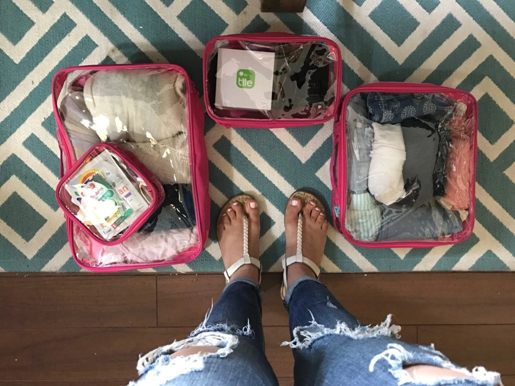 Stay organized with EZ Packing Cubes   Global Munchkins