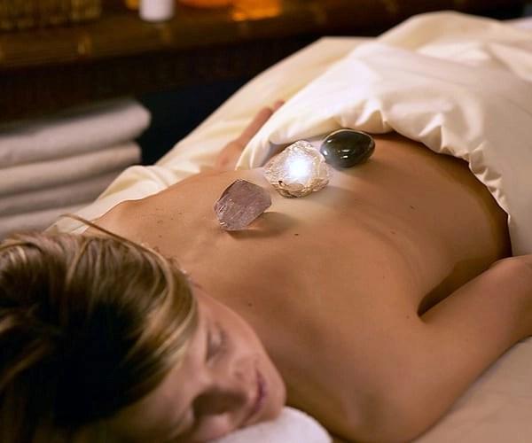 Hot stone massage at Hilton in Tucson