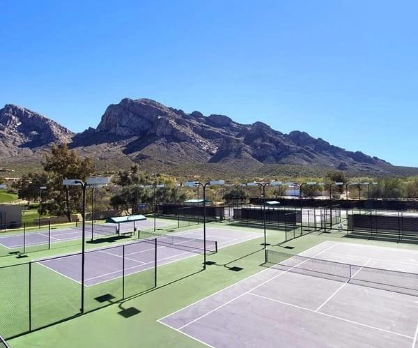 Tennis Court at Hilton El Conquistador in Tucson
