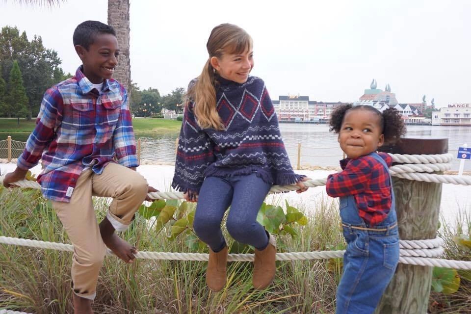 Cute holiday family looks by OshKosh