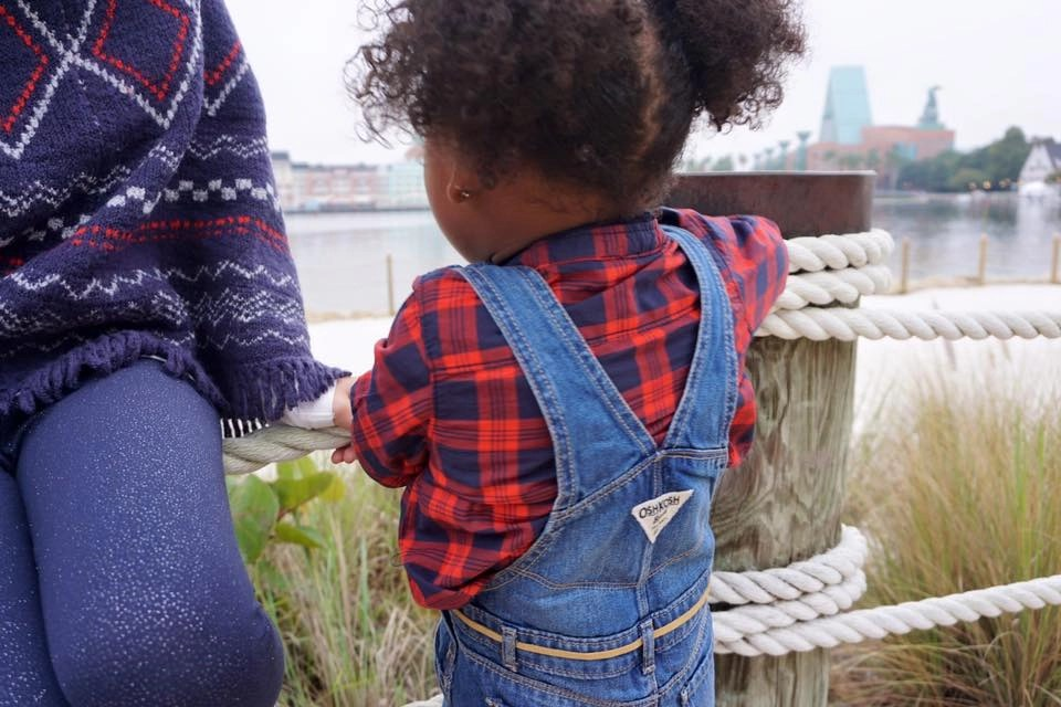Nothing cuter than a trendy baby in OshKosh Overalls