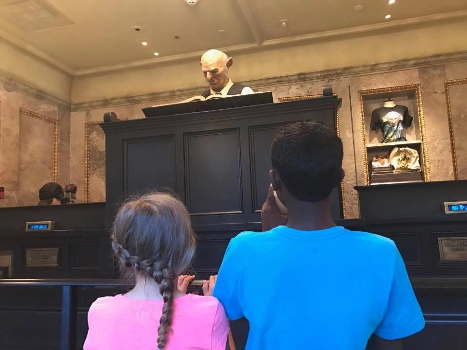 Diagon Alley, the best time to visit to avoid the crowds at Universal Orlando