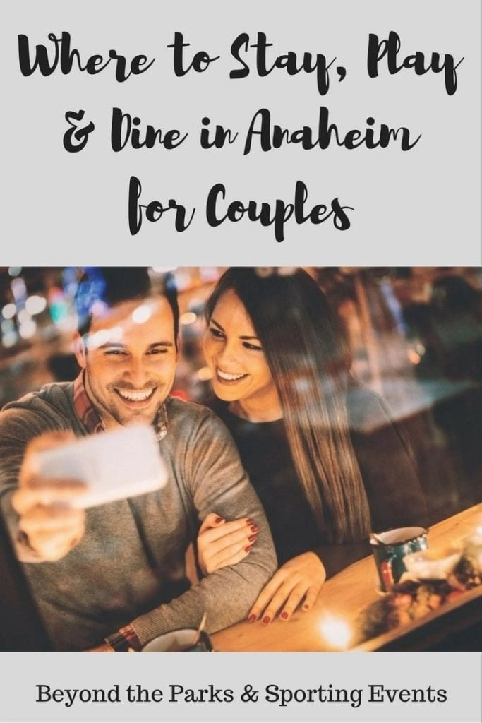Where to stay, play and dine in Anaheim. There are plenty of things to do in Anaheim beyond the parks and sporting events. Check out these fantastic attractions for couples in Anaheim and make your perfect Anaheim date itinerary.