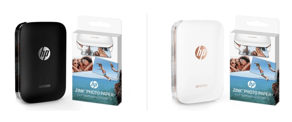 Awesome gift for travelers. This portable printer connects to their camera or phone and they can print on the go. Find even more travel gifts by clicking on the link, I've put together my top 10 unique gifts for travelers