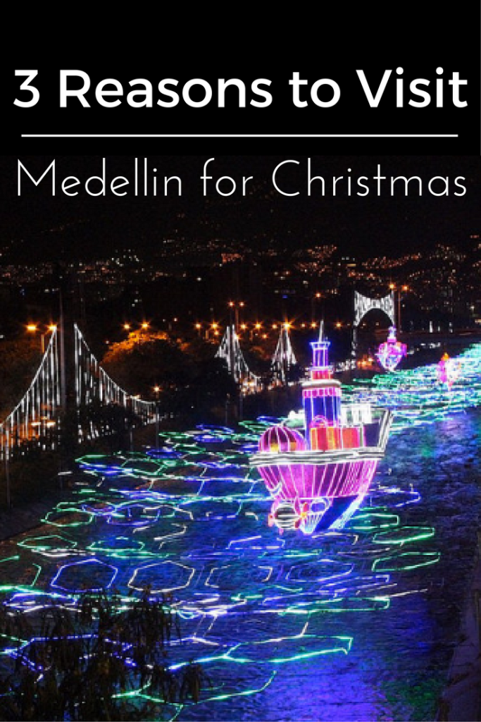 Medellin Colombia boasts an incredible holiday light spectacular but that is not the only reason you will want to visit this amazing, budget friendly destination