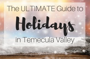 The Ultimate Guide to Holidays in Temecula