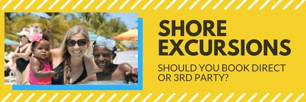 Should you book a shore excursion independently from your cruise line? I'll give you tips to help you decide. Click to learn more.