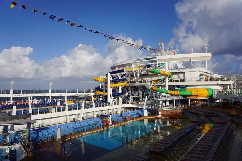 Harmony of the Seas itinerary includes downtime for all the amazing things they have to do onboard. Including the 7 amazing neighborhoods. Click to read my ULTIMATE Guide to the Harmony of the Seas where I share ways to save and everything you CAN'T miss while onboard.