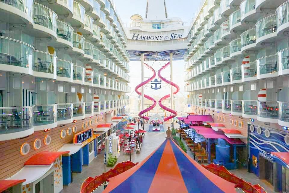 Harmony Of The Seas Itinerary Review 17 Money Time Saving Tips