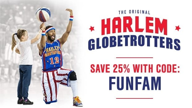 The Harlem Globetrotters are coming to Los Angeles