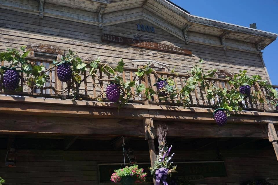 Boysenberry Festival Booth at Knott's Berry Farm