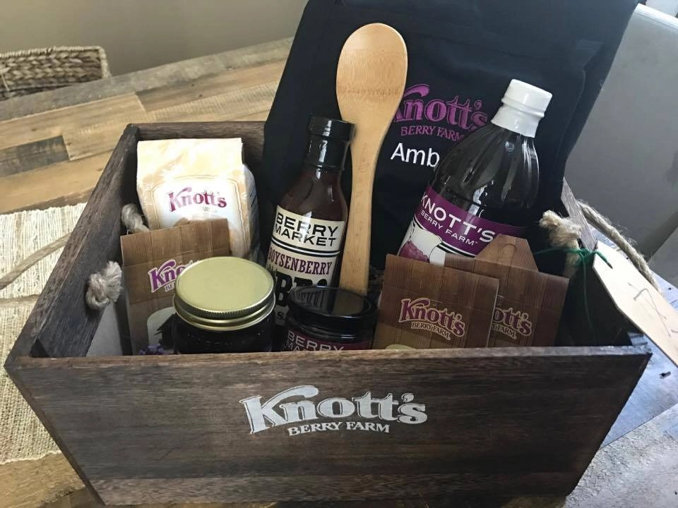 Knott's Berry Farm Boysenberry Goodies to Take Home