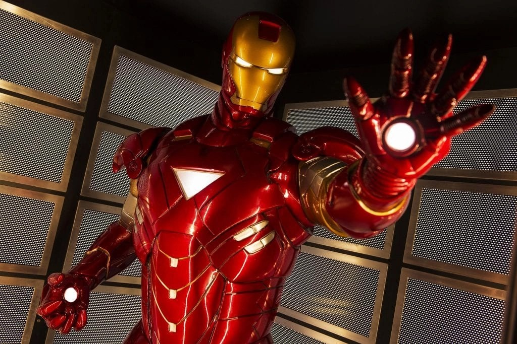 Marvel's Avengers Academy in Disney's Oceaneer Club on the Disney Magic invites young crime-fighters into a high-tech command post used by The Avengers for special missions and operations training. Throughout the base, displays feature some of the equipment that makes The Avengers the earth's mightiest heroes, including Iron man's suit of armor. (Matt Stroshane, photographer)