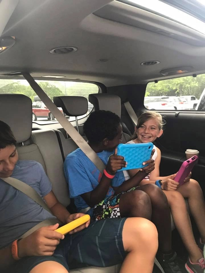 Road Tripping with kids is never easy however these three things will make your trip so much easier.