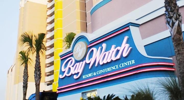 Baywatch Resort Myrtle Beach.