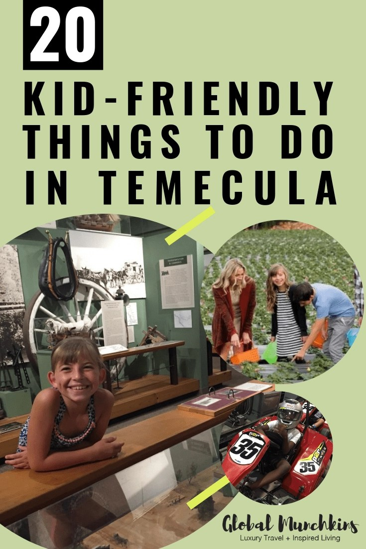 Check out our list of kid-friendly things to do in and around Temecula Valley! #temecula #travelexperience #traveldestinations #travel #traveltips #travelwithkids