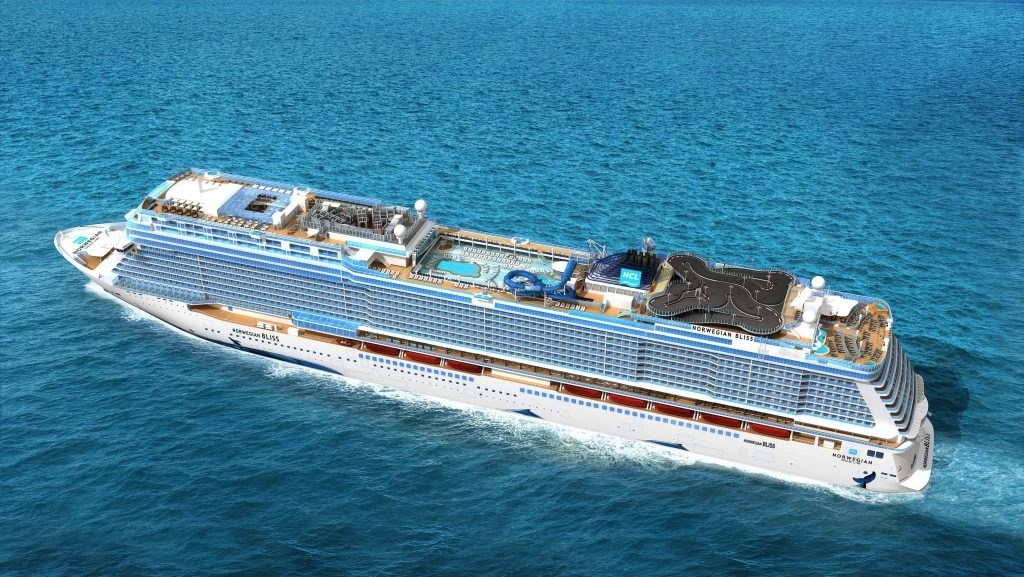 Meet the Norwegian Bliss. Everything you wanted to know about NCL's newest ship the Norwegian Bliss. Find out what's on board the Norwegian Bliss and what itineraries Norwegian Cruise Line has planned for their newest ship at sea.