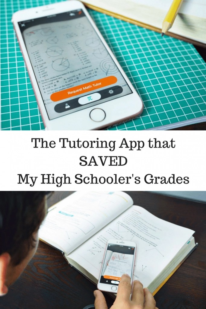 On-demand tutoring through the Yup science and math tutor app. Much cheaper than in-person tutoring, teens are more willing to use it without embarrassment, reduces anxiety and more. Best decision we ever made for our high schooler.