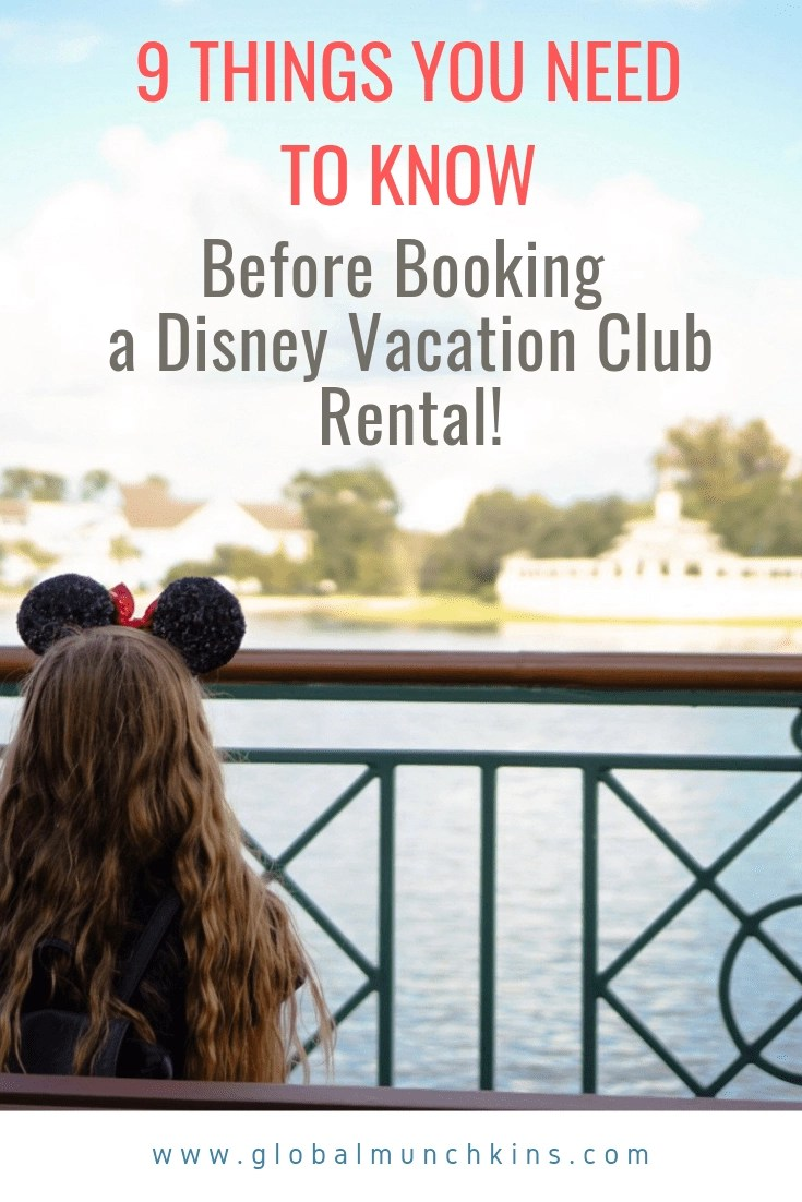 9 Fascinating Facts I Wish I Knew Before Booking a DVC Rental. Booking a DVC Rental can save you a ton of money on your next Disney Vacation. Here are 9 facts I wish I knew before booking my Disney Vacation Club Rental. #dvc #disneyvacationclub #disneyworld
