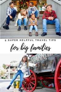 Grab my top 5 secret to making family travel more fun for everyone. You will love this tried and true travel advice from professional travel writer and mom to 5, Amber Mamian.