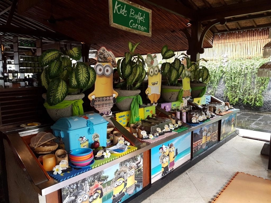 The BEST Luxury Resorts for families in the world. The Intercontinental Bali Resort has a Minion themed kids buffet. Find all the best kid-friendly luxury resorts named by today's top travel writers, nomadic parents, and globetrotting families.