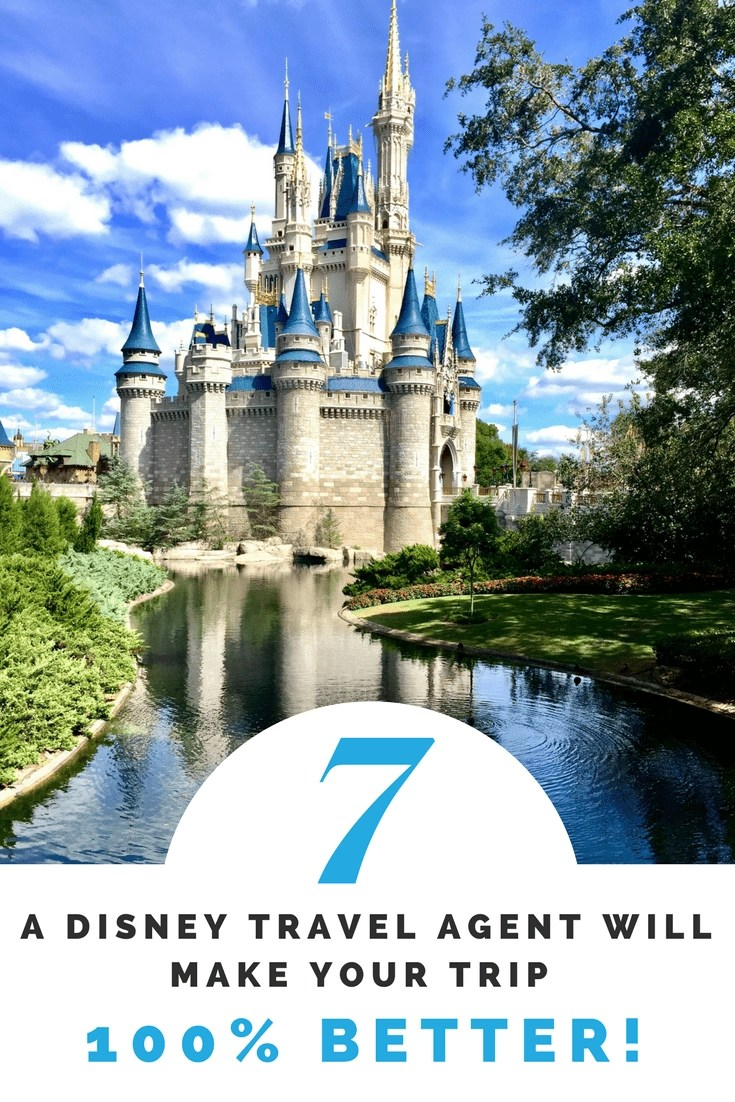 7 Reasons why a Disney Travel Agent can make you trip 100% better! From Navigating Fast Passes & Magic Bands to Dining Reservations. Disney Travel Agents are an asset not to overlook.