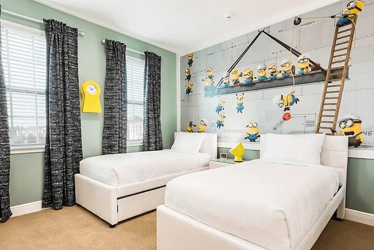 Orlando Villa - Despicable Me Minion Room