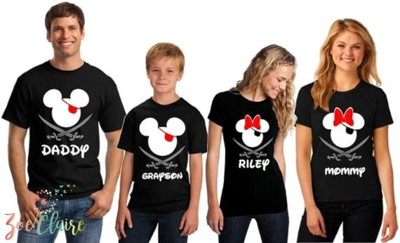 Disney Family Shirts - Pirate