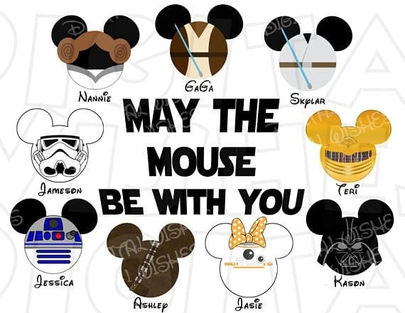 Disney Family Shirts - Star Wars 2