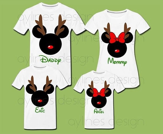 iDisney Holiday Family Shirts