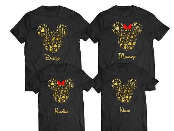 11 Awesome Disney Family Shirts For Your Vacation 3 Weird Ones