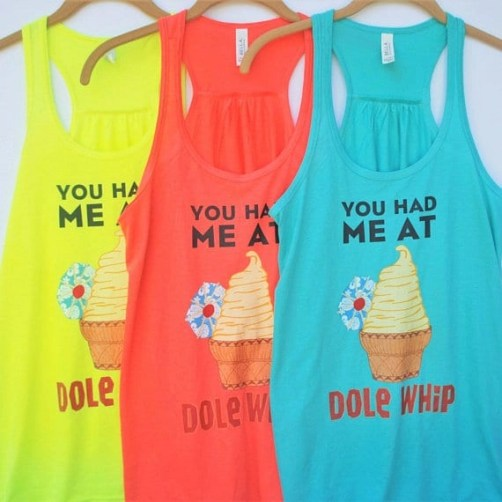 Dole Whip Family Shirts