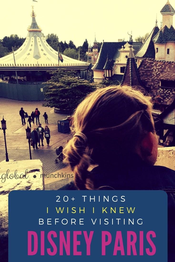 Heading to Disneyland Paris? Here are Over 20 tips we wish we knew before heading Disney Paris! #disneylandparis #disneyparis #waltdisneystudios