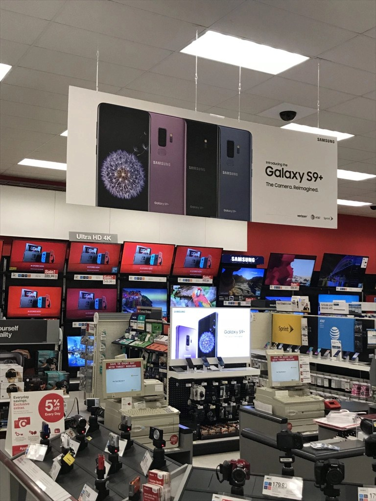 Find the NEW Samsung Galaxy S9+ at Target.
