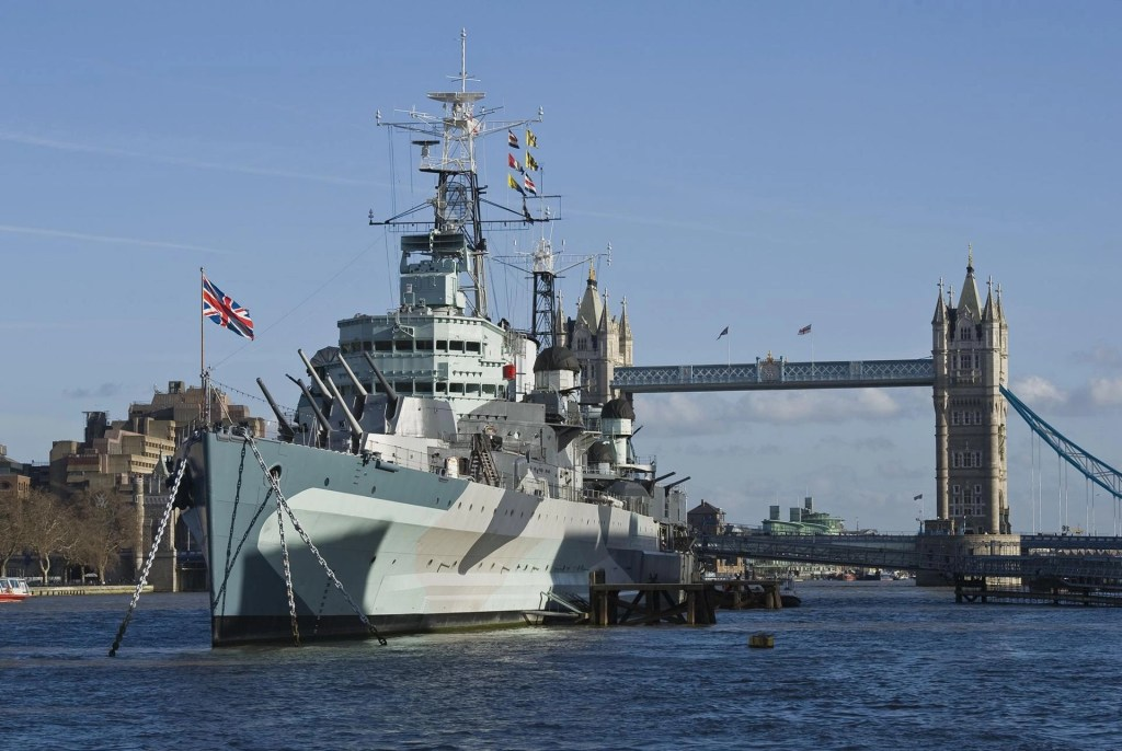 HMS Belfast Things to do in London with kids
