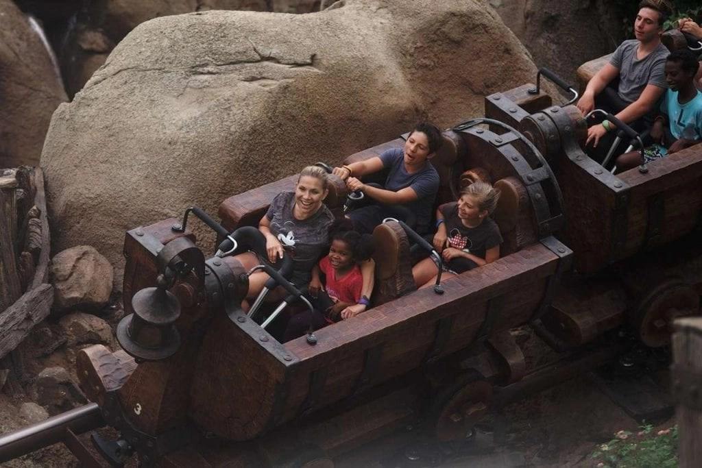 Magic Kingdom Fast Pass - Seven Dwarfs Mine Ride