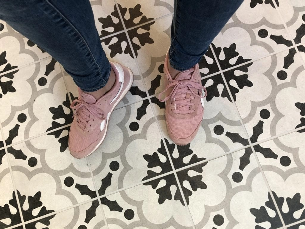 Adorable matching mother and daughter matching Reebok Classics. Find these and more great styles for the whole family at DSW. #aponsored #reebokclassics #reebok #reebokprincess