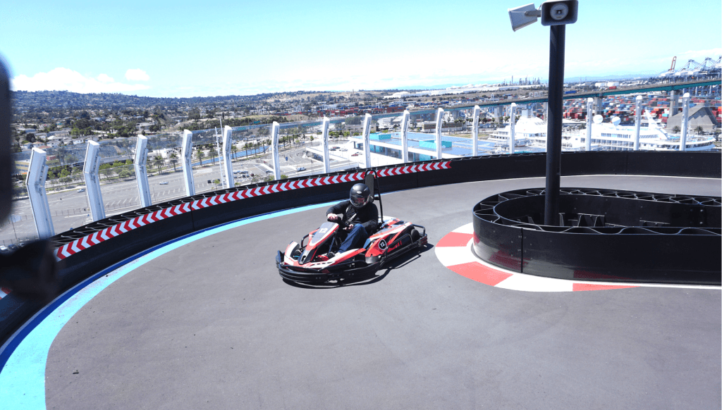 NCL Bliss Go Kart at Sea (1)