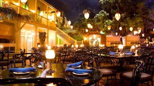 Disneyland Dining - Blue Bayou