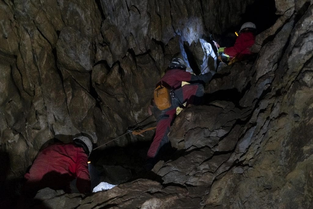 Canmore Cave Tours - Climbing in Banff