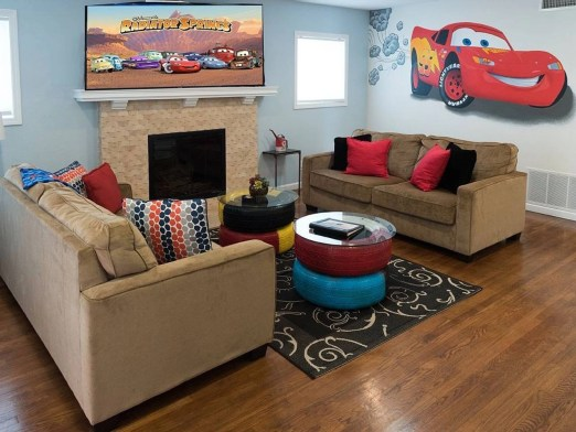 Cars Inspired Airbnb Anaheim