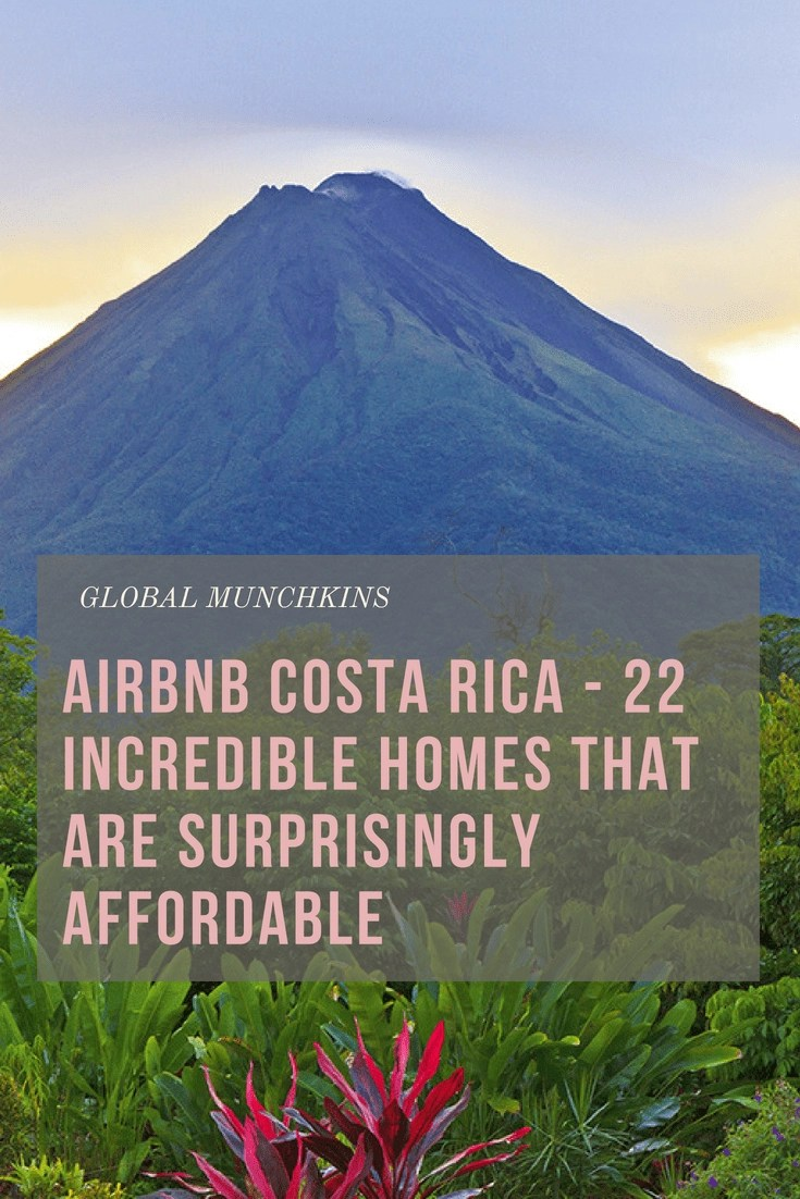 Airbnb Costa Rica - 22 Incredible Homes that are Affordable! Pura Vida!! Experiencing Costa Rican lifestyle is something everyone should have on their bucket list. Since there are so many amazing Airbnb Costa Rica locations we decided to pull together a list of the very best for you! #AirbnbCostaRica #CostaRica #Travel