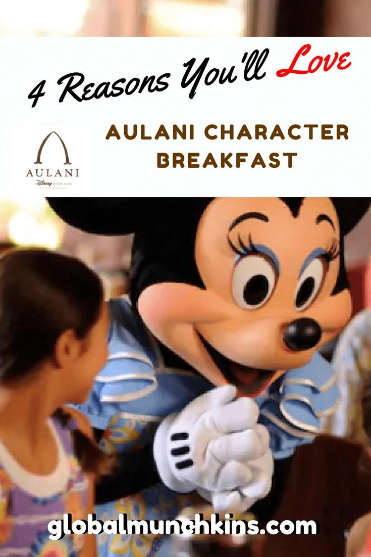 4 Reasons Your Family Will Love an Aulani Character Breakfast! #Aulani #Hawaii #Oahu #Disney